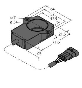 RI120P1-QR20-LU4X2-0.24-AMP01-3P