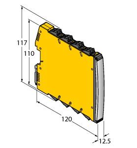 IMX12-DI01-2S-2T-0/24VDC