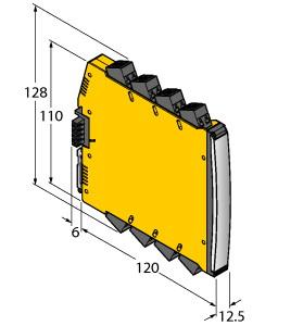 IMX12-DI01-2S-2R-PR/24VDC/CC